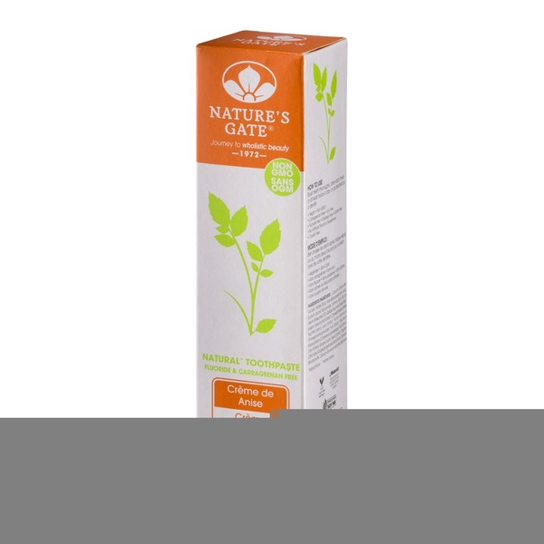 Nature's Gate Natural Toothpaste Creme de Anise