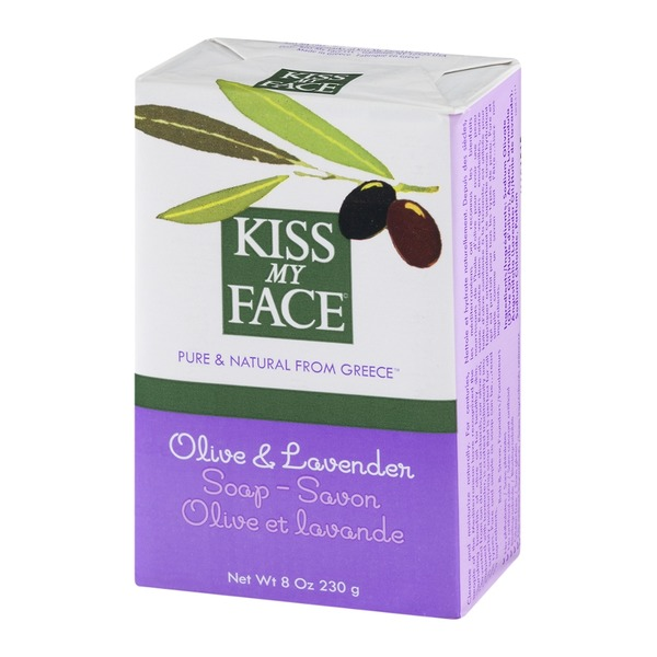 Kiss My Face Olive & Lavender Soap