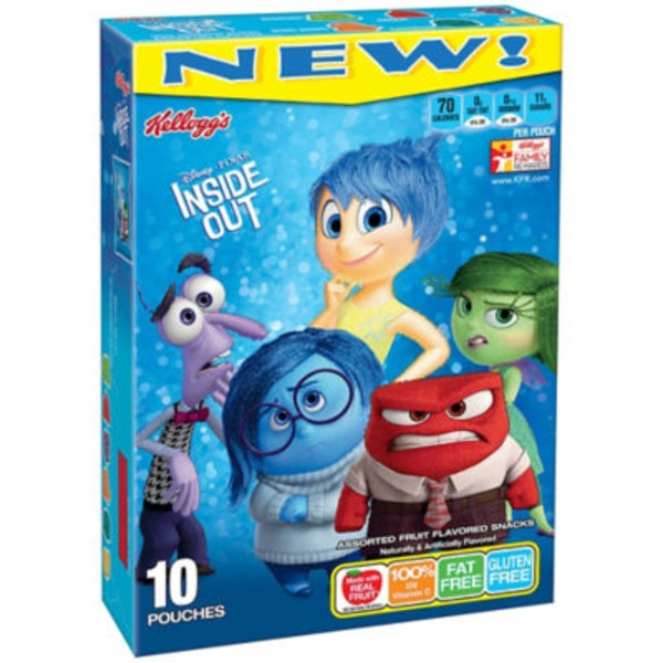Kellogg's Disney/Pixar Inside Out Fruit Flavored Snacks