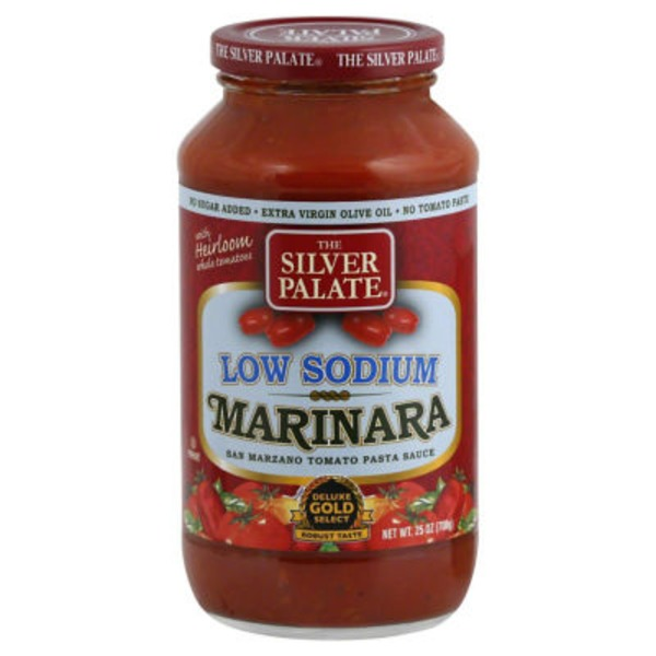 The Silver Palate Low Sodium Marinara San Marzano Tomato Pasta Sauce