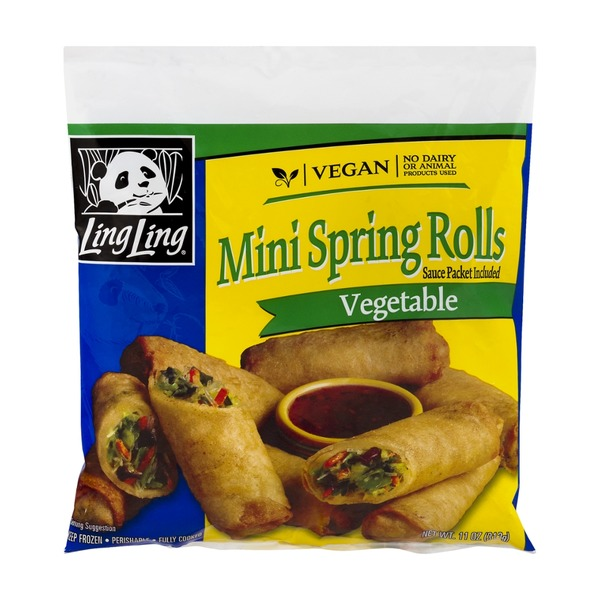 Ling Ling Mini Spring Rolls Vegetable