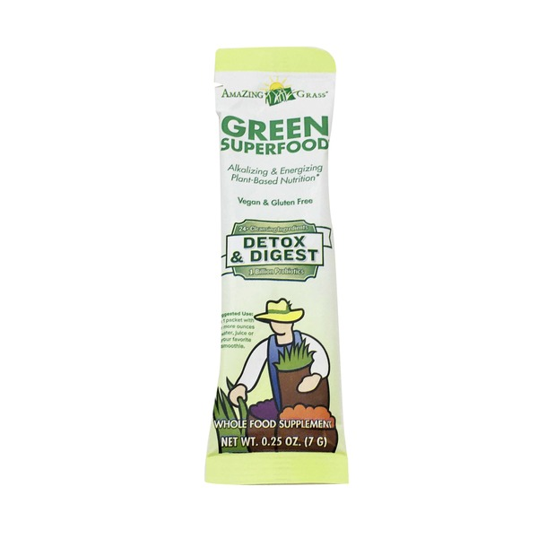 Amazing Grass Detox And Digest Single Serve Packet