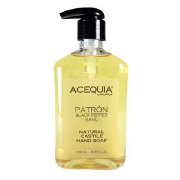 Acequia Hand Soap Patron Black Pepper Basil