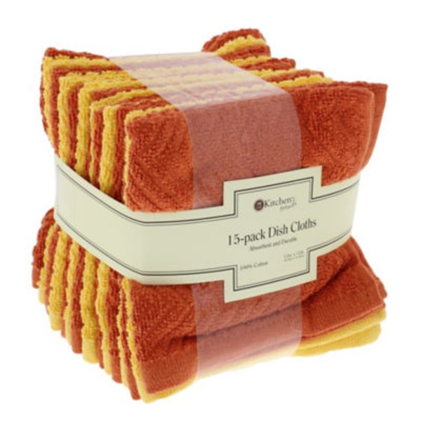 Kitchen Trends Dishcloths Assorted Colors