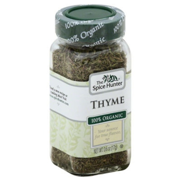The Spice Hunter Thyme, 100% Organic
