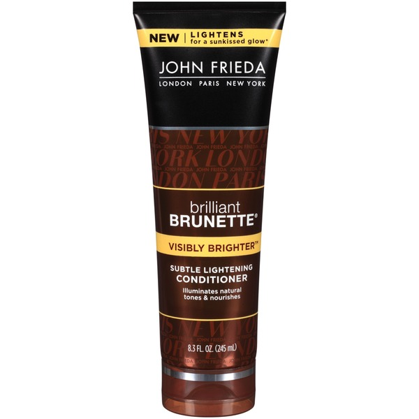 John Frieda Brilliant Brunette Visibly Brighter Subtle Lightening Conditioner