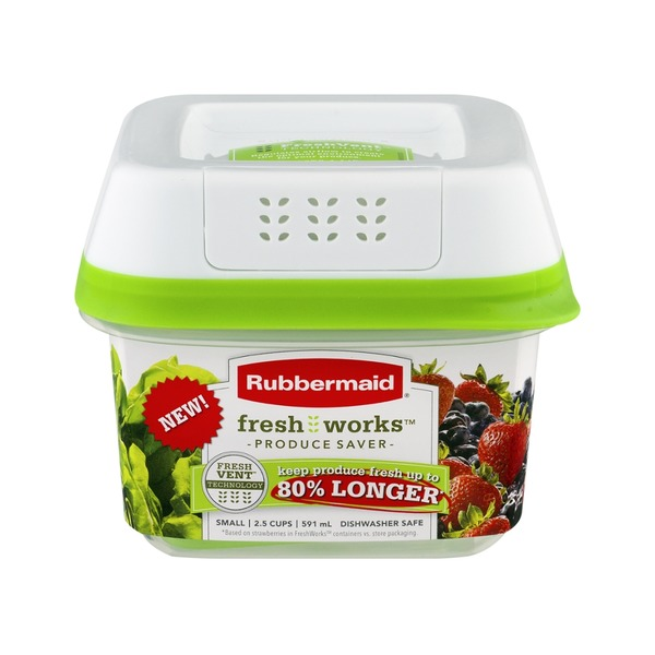 Rubbermaid Fresh Works Produce Saver Small