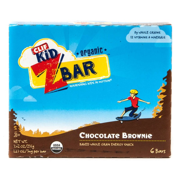 Clif Kid® ZBar Organic Chocolate Brownie Energy Snack