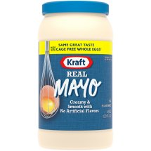 Kraft Mayo Mayonnaise Real, 48 fl oz, Jar