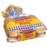 Butter Krust Hot Dog Buns, 8 ct, 12 oz