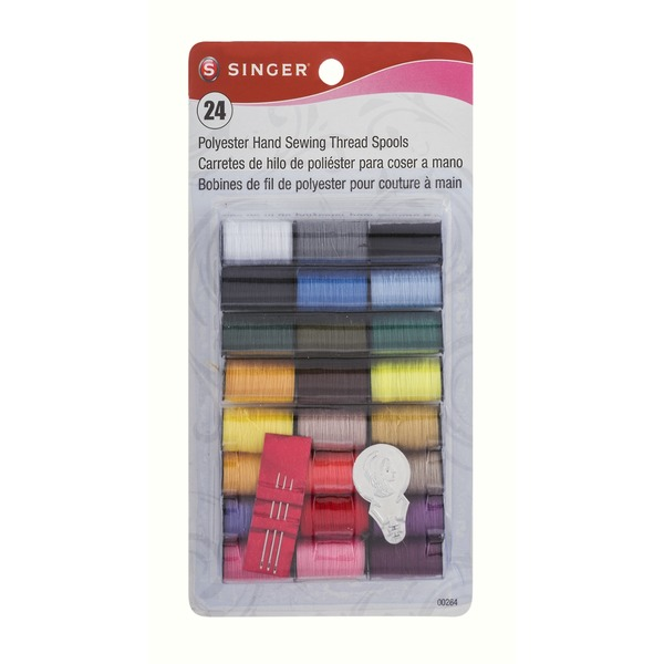 Singer Polyester Hand Sewing Thread Spools