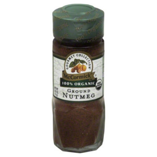 Gourmet Organic Organic Ground Nutmeg