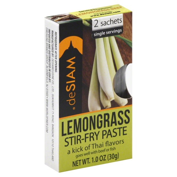 Desiam Stir-Fry Paste, Lemongrass
