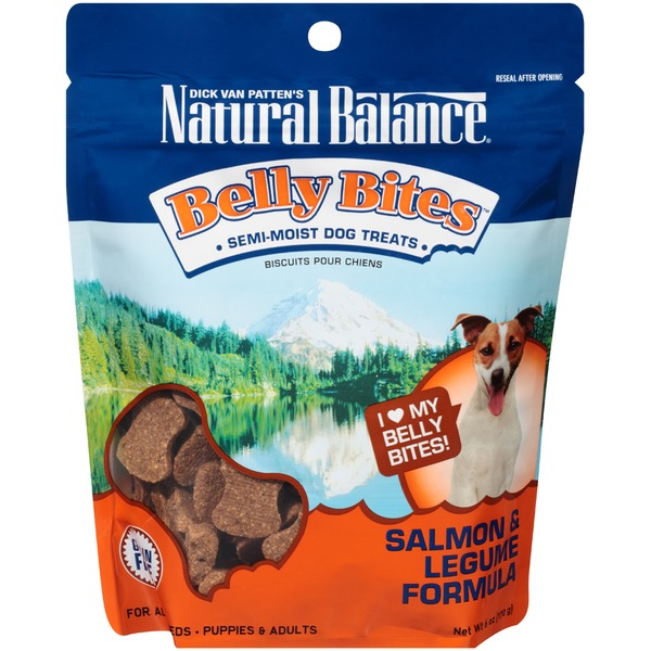 Natural Balance Belly Bites Salmon & Legume Formula Dog Treats