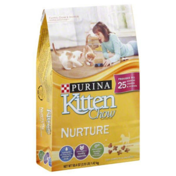 Kitten Chow Nurture Cat Food