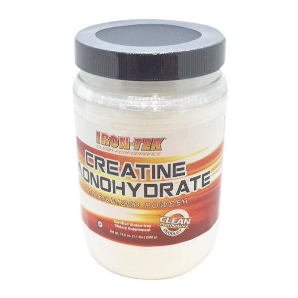 Iron-Tek Creatine Monohydrate Micronized Powder
