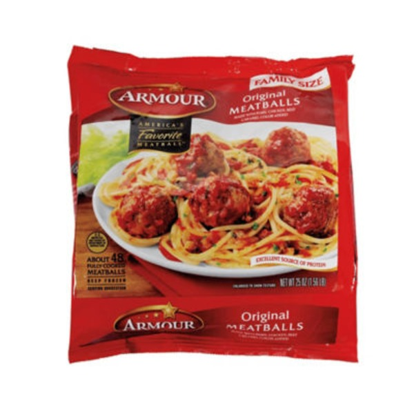 Armour Original Frozen Meatballs