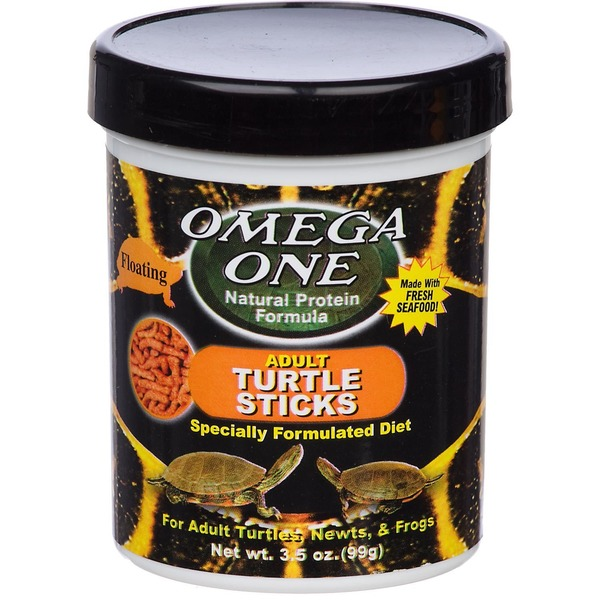 Omega One Natural Protein Formula Adult Turtle Sticks