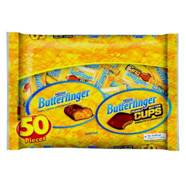Nestle Butterfinger 50 Pieces Assorted Cups