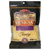H-E-B Mexican Blend Fancy Shredded Cheese