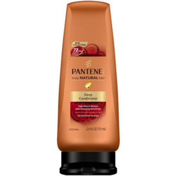 Pantene Deep Conditioning Pantene Pro-V Truly Natural Hair Curl Defining Conditioner 12 Fl Oz Female Hair Care