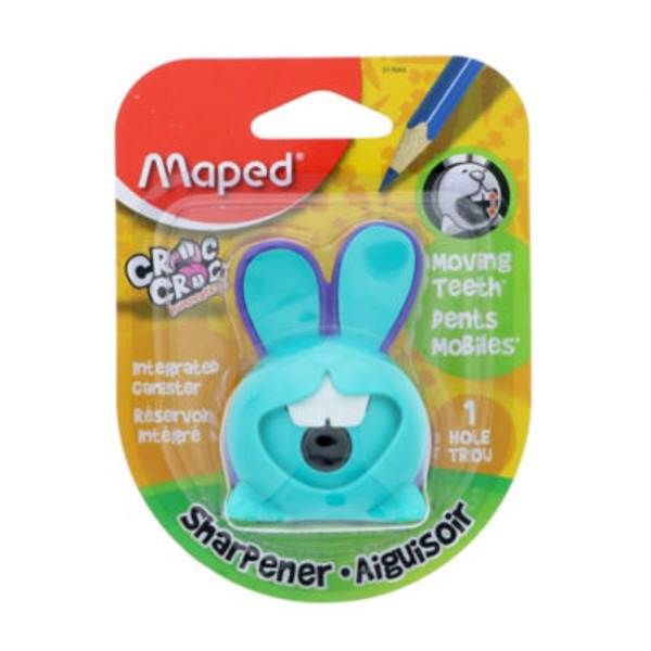 Maped Assorted Bunny One Hole Sharpener