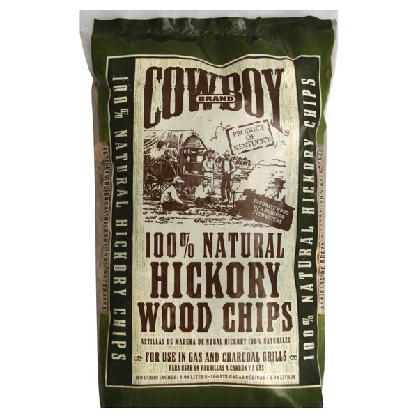 Cowboy 100% Natural Hickory Wood Chips