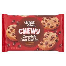 Great Value Chewy Cookies, Chocolate Chip, 13 Oz