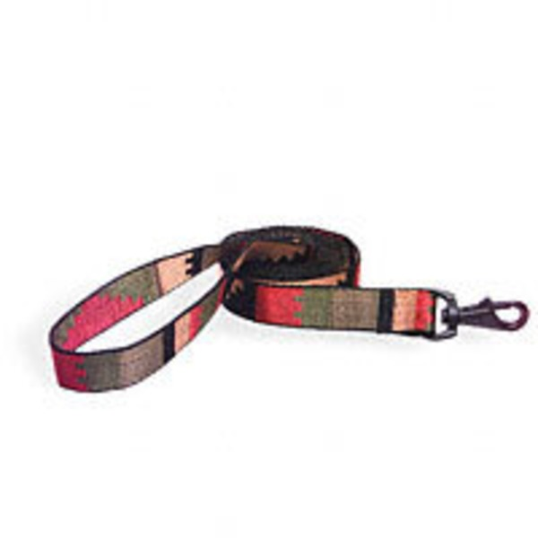 Bison Pet Rasta Nylon Dog Leash
