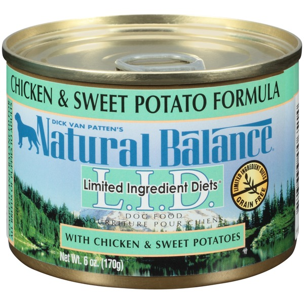 Natural Balance L.I.D. Chicken & Sweet Potato Formula Dog Food