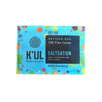 K'ul Chocolate Saltsation Artisan Bar, 70% Fine Cacao