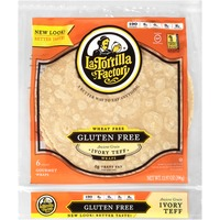 La Tortilla Factory Gluten Free Ancient Grain Ivory Teff Wraps