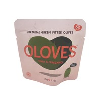 Oloves Chili & Oregano Green Pitted Olives