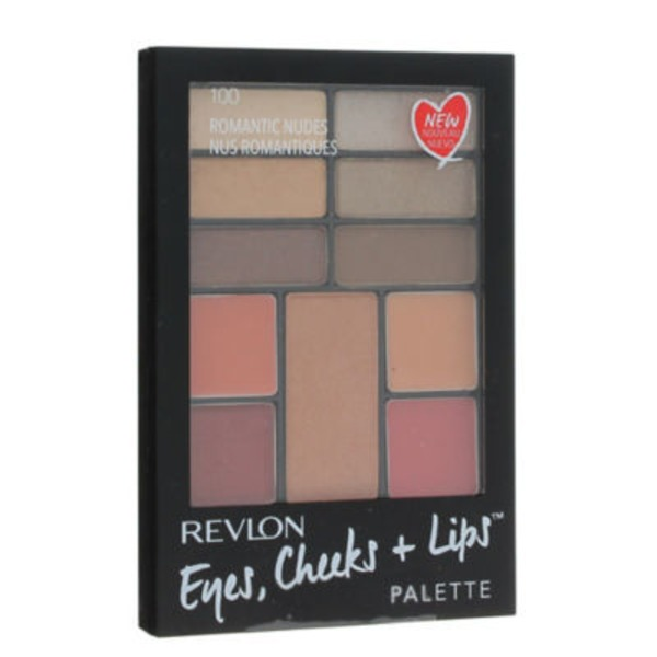 Revlon Eyes, Cheeks + Lips Palette, Romantic Nudes 100