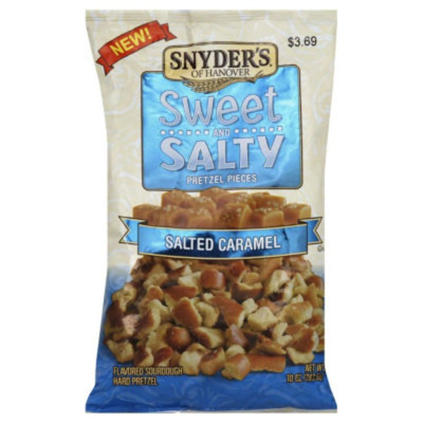 Snyder's of Hanover Sweet and Salty Salted Caramel Pretzel Pieces