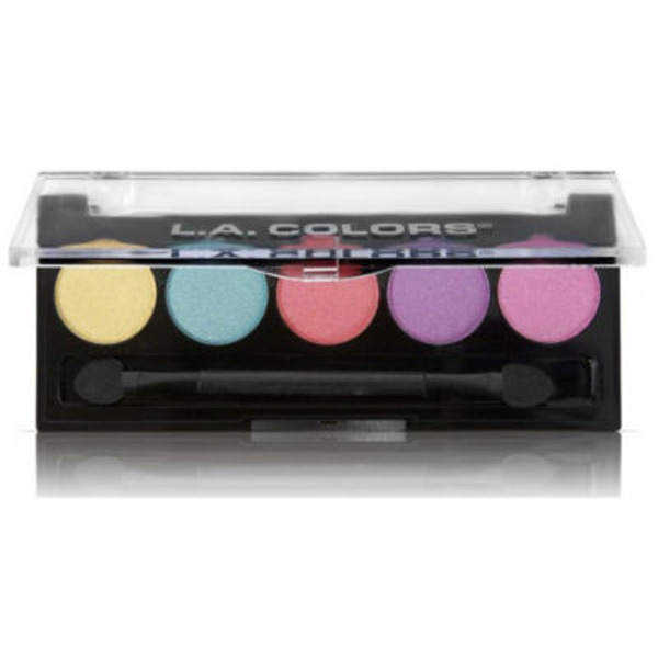 L.A. Colors Carnival 5 Color Metallic Eyeshadow