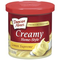 Duncan Hines Lemon Supreme Creamy Home-Style Frosting