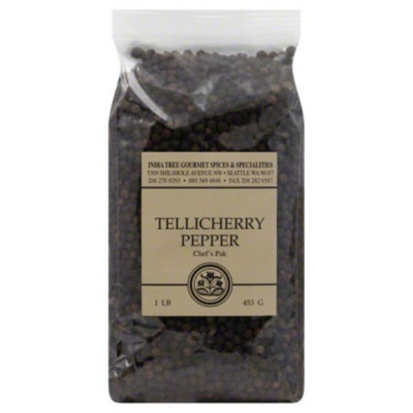 India Tree Tellicherry Pepper, Chef's Pak