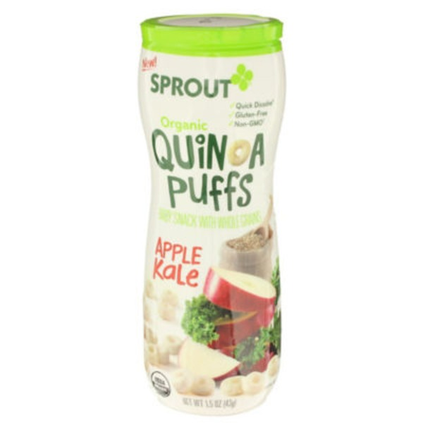 Sprouts Apple Kale Puffs