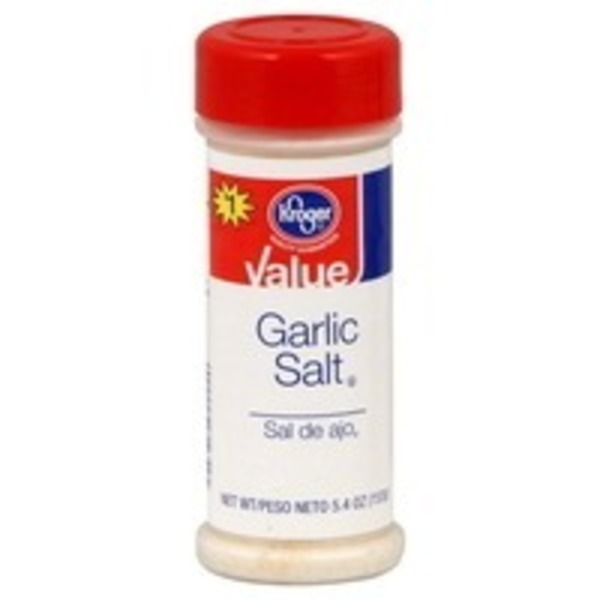 Kroger Value Garlic Salt