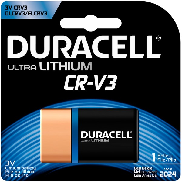 Duracell Ultra Duracell Ultra Lithium CRV3 1 count Specialty Batteries
