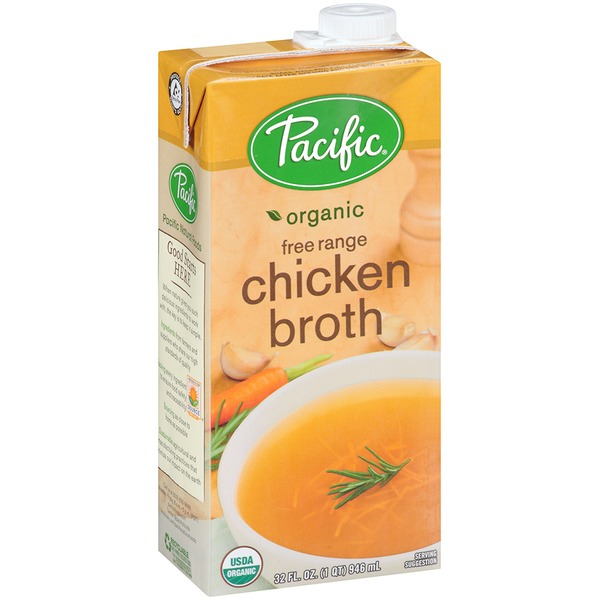 Pacific Organic Free Range Chicken Broth