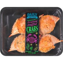 Daily Catch Seafood Stuffed Crabs, 4 ct, 12 oz