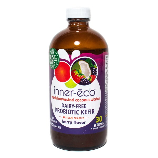 Inner Eco Fresh Coconut Water Probiotic Berry Flavor