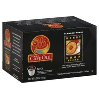 HEB Cafe Ole Donut Shop Blend Single Cup Coffee Medium Roast Pods