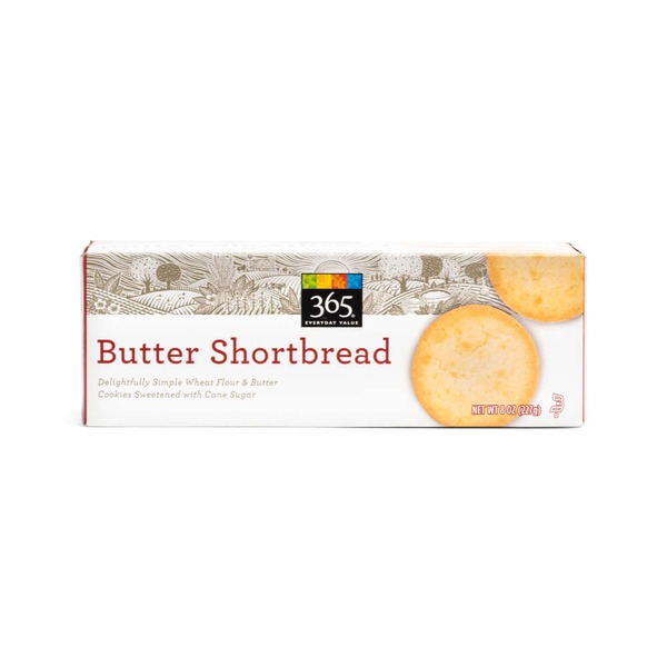 365 Butter Shortbread Cookies