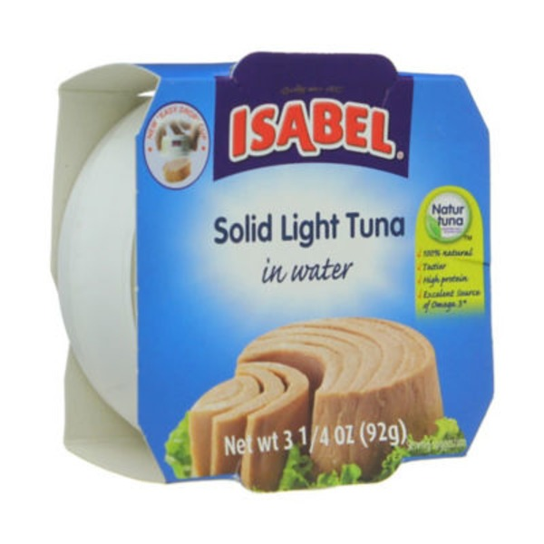 Dona Isabel Solid Light Tuna in Water