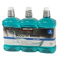 Kirkland Signature Antiseptic Mouth Rinse