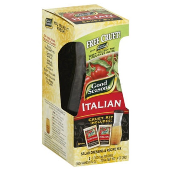 Good Seasons Italian All Natural Salad Dressing & Recipe Mix