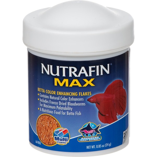 Nutrafin Max Betta Color Enhancing Flakes